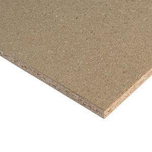 panneau de construction en bois aggloméré / pour agencement intérieur / ignifuge / écolabel PEFC