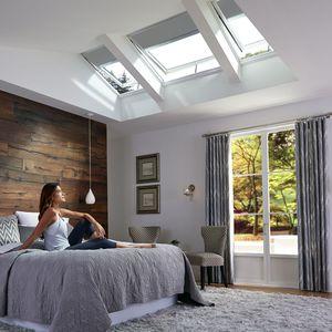 fenêtre de toit à capteur solaire