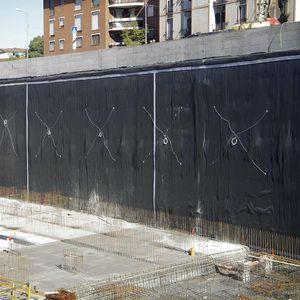 membrane d'étanchéité de protection / pour sous-sol / pour parking / pour génie civil