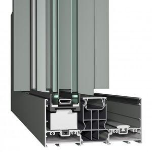 système coulissant pour porte / en aluminium