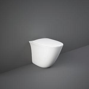 toilettes à poser / en céramique / sans bride