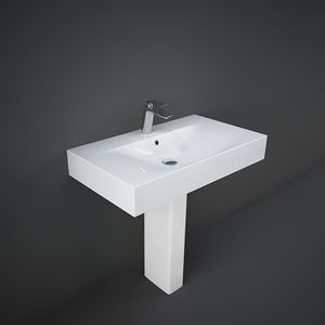 vasque au sol