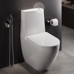 WC près du mur
