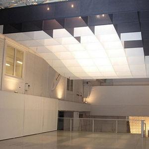 faux-plafond en papier / en îlot / décoratif / ignifuge
