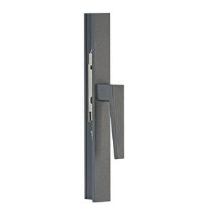 poignée pour porte / de fenêtre / de fenêtre oscillo-battante / en aluminium