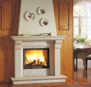 manteau de cheminée classique / en marbre