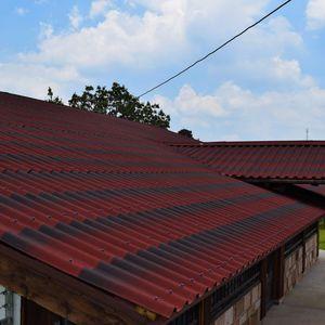 couverture de toit en asphalte