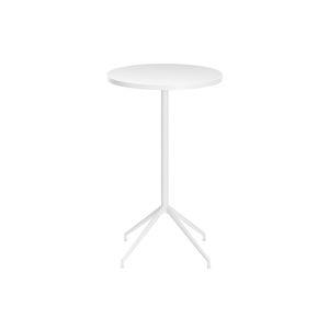table mange-debout contemporaine / en bois / en HPL / en aluminium