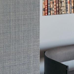 tissu mural / uni / à rayures / en PVC