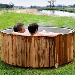 bain nordique bois