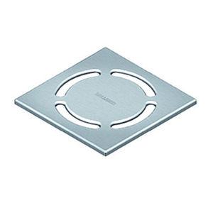 grille de siphon pour douche / en acier inox