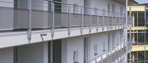 profilé en résine / de rive / pour balcon