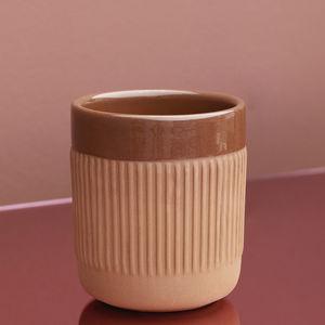 tasse en terracotta
