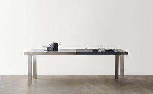 table de préparation en acier inoxydable