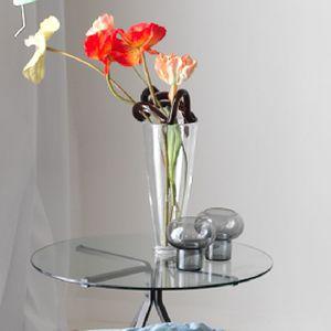 bougeoir en verre soufflé / en verre de Murano