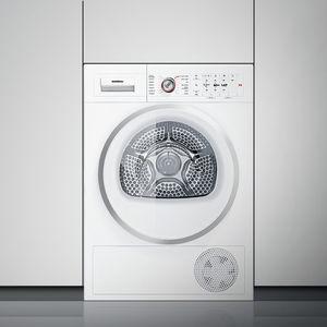 sèche-linge à condensation / à poser / superposable / respectant l'environnement