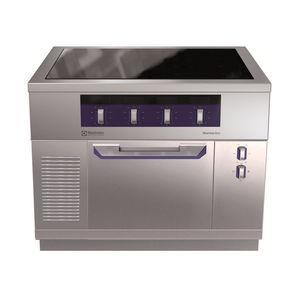 cuisinière vitrocéramique / à induction / professionnelle / en inox