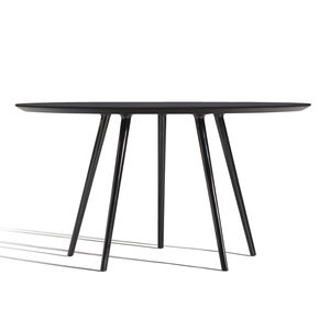 pied de table en aluminium poli