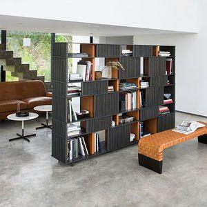 bibliothèque pour mur / haute / basse / contemporaine