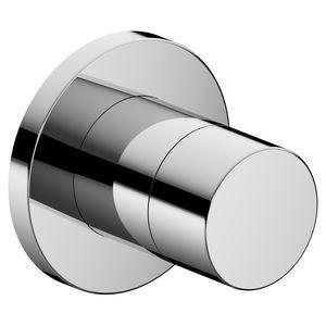 robinet d'arrêt de douche / mural / en métal chromé / de salle de bain