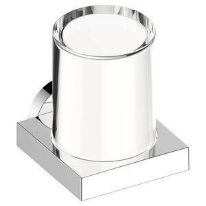 distributeur de savon pour hôtel / à poser / en cristal / manuel