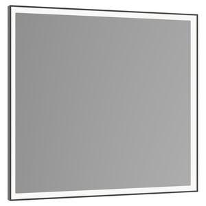 miroir de salle de bain mural / lumineux (LED) / contemporain / carré