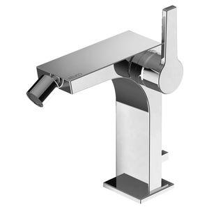 mitigeur pour bidet / en métal chromé / mécanique / 1 trou