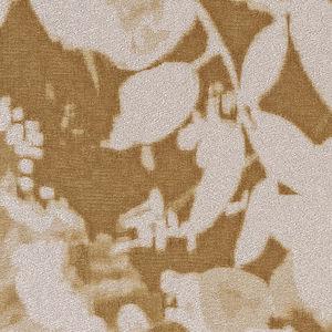 papier peint classique / en vinyle / à motif floral / aspect tissu