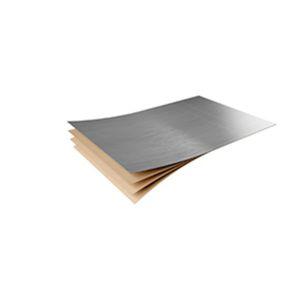 stratifié décoratif aspect métal