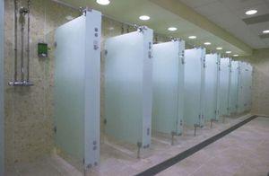 douche en métal / rectangulaire