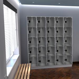 casier de consigne en polycarbonate