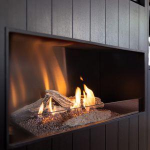 cheminée au bioéthanol / contemporaine / à foyer ouvert / encastrable