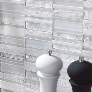 carrelage d'intérieur / mural / en composite / à relief