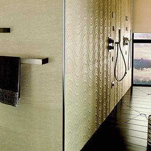 profilé décoratif en aluminium anodisé