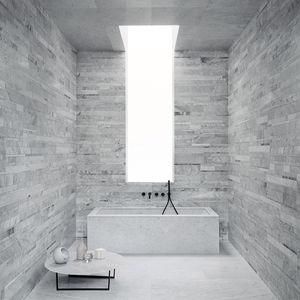 carrelage d'intérieur / mural / en marbre / rectangulaire