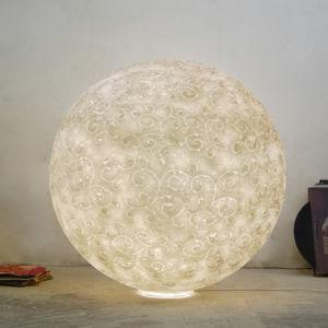 lampe de sol / de style Art Nouveau / en polycarbonate / en Nebulite®