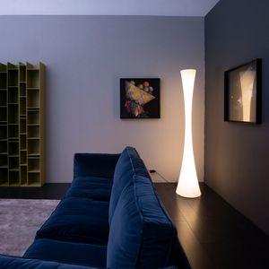 colonne lumineuse contemporaine / en polyéthylène / à LED / d'intérieur