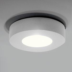 plafonnier design original / rond / en aluminium / à LED