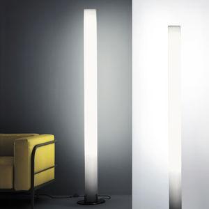 colonne lumineuse contemporaine / en polycarbonate