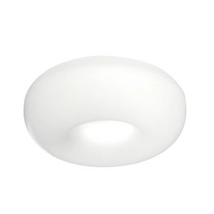plafonnier contemporain / rond / en aluminium / fluorescent