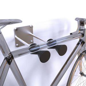range-vélo mural / en acier inoxydable / en plastique / professionnel