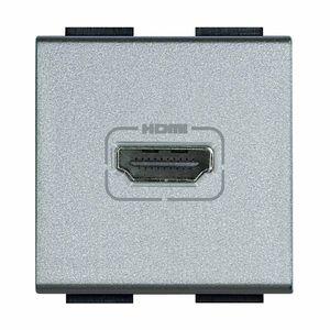 prise HDMI / murale / en métal / contemporaine