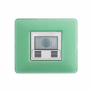 interrupteur pour volet roulant / bouton poussoir / avec détecteur de mouvement / encastré