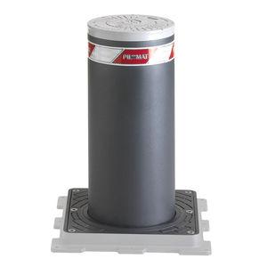 borne escamotable / de contrôle d'accès / de protection / en acier