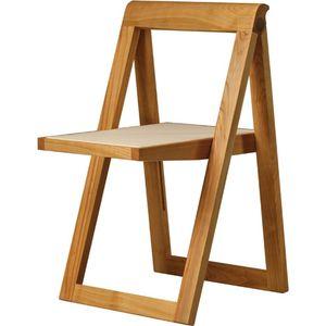 chaise contemporaine / tapissée / pliante / en tissu