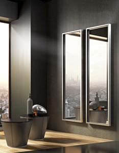 miroir mural / de chambre à coucher / contemporain / rectangulaire
