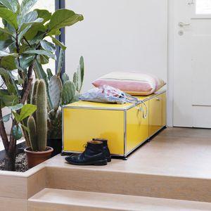 meuble à chaussures contemporain / MDF / en métal