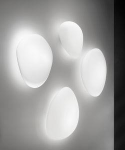 applique murale contemporaine / en verre / à LED / IP20