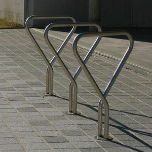 range-vélo en acier inoxydable