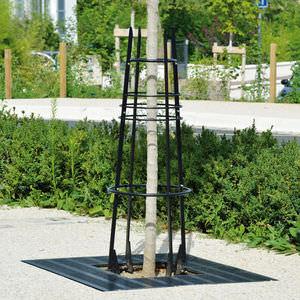 corset d'arbre en acier